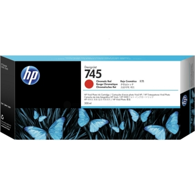 HP F9K06A inktpatroon rood 745