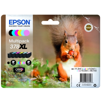Epson C13T37984010 inktpatroon MultiPack 378XL
