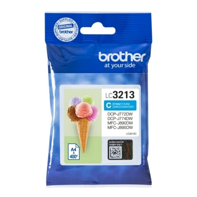 Brother LC-3213C inktpatroon cyaan