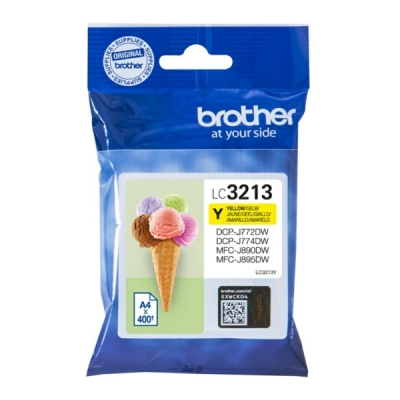Brother LC-3213Y inktpatroon geel