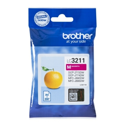 Brother LC-3211M inktpatroon magenta