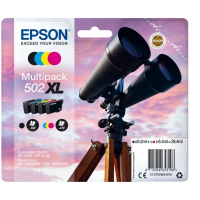Epson C13T02W64010 inktpatroon MultiPack 502XL