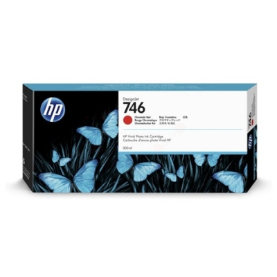 HP P2V81A inktpatroon rood 746