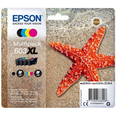 Epson C13T03A64010 inktpatroon MultiPack 603XL