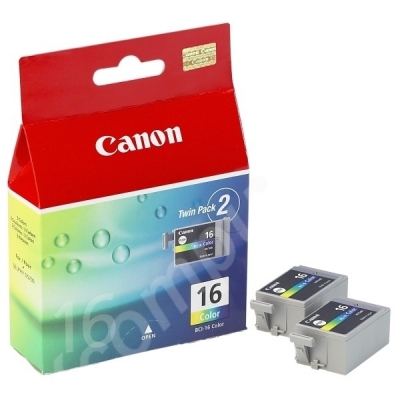 Canon inktpatroon BCI-16C color 9818A002 VE=2