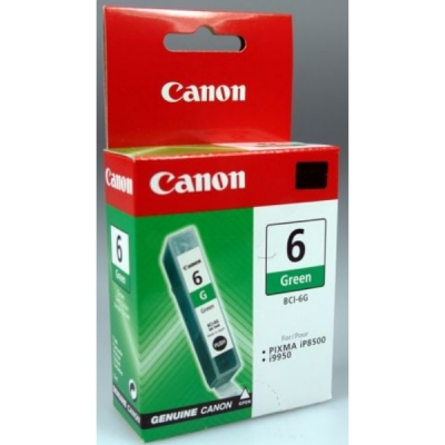 Canon inktpatroon BCI-6G groen 9473A002